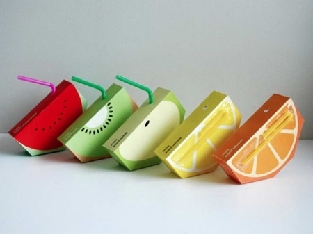 cool packaging fruit juice